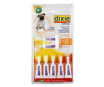 Dixie Pipetas insectifugas para perros pequeños 7 unidades