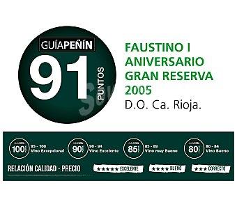 Faustino I Vino tinto gran reserva con denominación de origen Rioja Botella de 75 centilitros