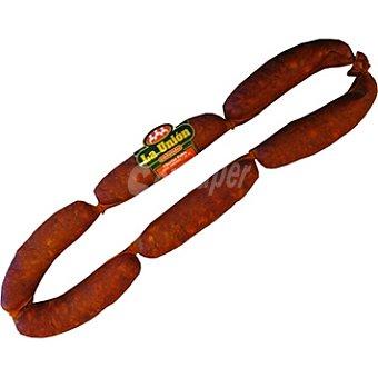 La Union Chorizo dulce extra ahumado asturiano  120 g (peso aproximado pieza)