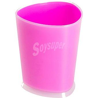 QUO Vaso para baño en color fucsia