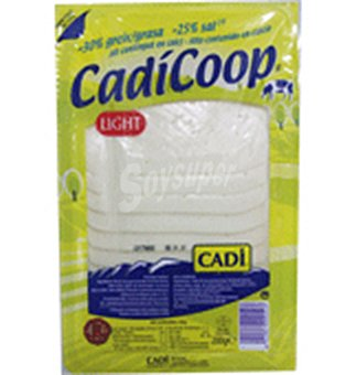 Queso cadicop lonchas 200 GRS