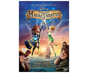 ANIMACIÓN Película en Dvd, El mundo de Peter Pan, Campanilla Hadas y Piratas, Disney. Género: infantil. familiar, animación. Edad: TP