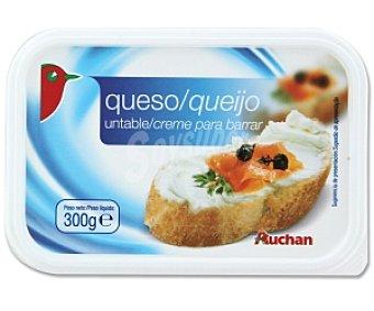 Auchan Queso para untar natural 300 Gramos