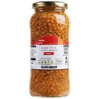 Eroski Basic Lenteja cocidas Frasco 400 g
