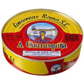 Churrusquiña Sardinilla en aceite vegetal Lata 525 g