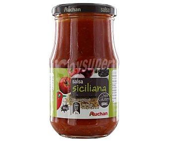 Auchan Salsa siciliana Frasco de 350 grs