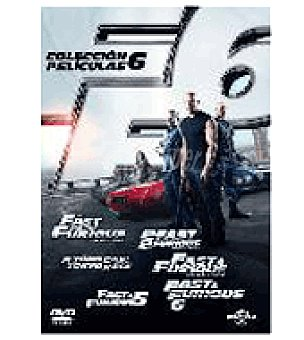 AND Fast Furious (1-6) DVD