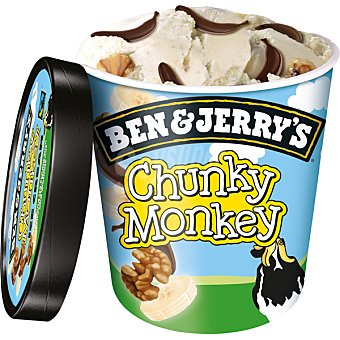 Ben & Jerry's Helado Chunky Monkey 500 ml