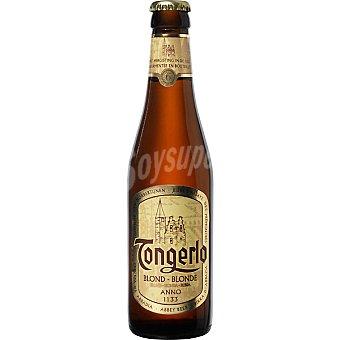 TONGERLO Cerveza rubia belga botella 33 cl 33 cl