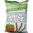 Vita palitos de patata con tomate, zanahoria y espinacas sin gluten bolsa 90 g Tostfrit