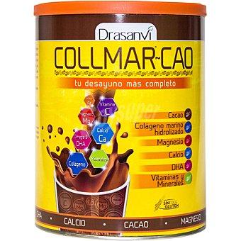 Drasanvi collmar-cao Cacao desgrasado con colágeno marino, magnesio, calcio y vitaminas sin gluten Bote 300 g