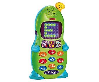 FISHER PRICE Teléfono infantil interactivo con luces, sonidos y actividades 1 Unidad