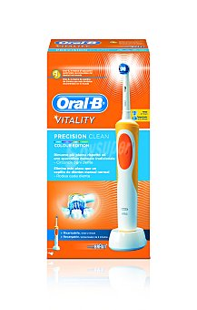 Oral-B Vitality Precision Clean Colour Edition Naranja BOX Cepillo de dientes