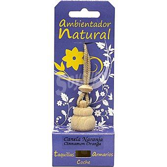 S&S Ambientador natural para pequeños espacios aroma canela-naranja Envase 1 unidad