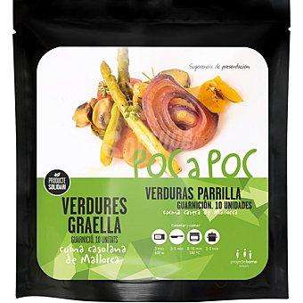 Poc a poc Verduras a la parrilla  envase 150 g