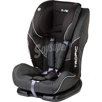 BABY NURSE 723 Silla Tropic para auto en color negro grupo 1-2-3 1 Unidad