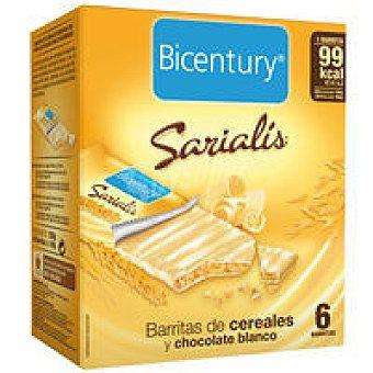 Sacialis Barrita de chocolate blanco Caja 160 g