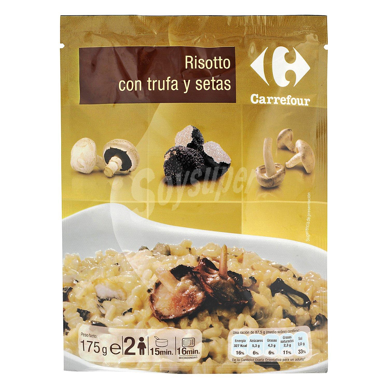 Carrefour risotto con trufa y setas 175 g for Arroz con setas y trufa