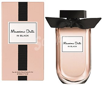 MASSIMO DUTTI In Black Her eau de toilette natural femenina  spray 80 ml