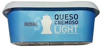 Hacendado Queso untar blanco natural light Tarrina 300 g