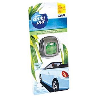 AMBIPUR CAR Ambientador de coche fruta tropical desechable  1 unidad