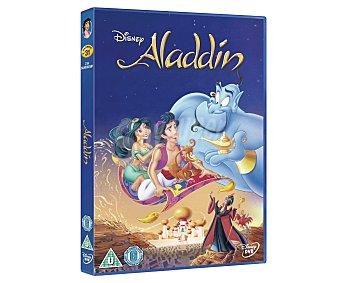 ANIMACIÓN Película Disney en Dvd Aladdin, edición 2013 con contenidos extra. Género: Infantil, cine familiar. Edad: TP
