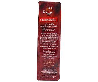 Catanambu Café molido descafeinado mezcla 250 g