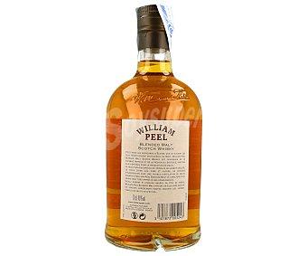 William Peel Whisky de malta de 8 años Botella 70 centilitros
