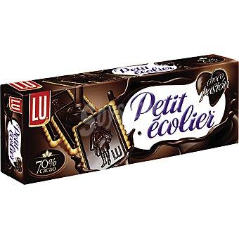 Lu petit ecolier Galletas con tableta de chocolate negro 70% cacao Caja 150 g
