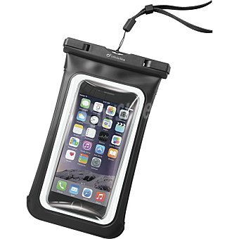CELLULAR LINE Funda Impermeable Voyager en color negro