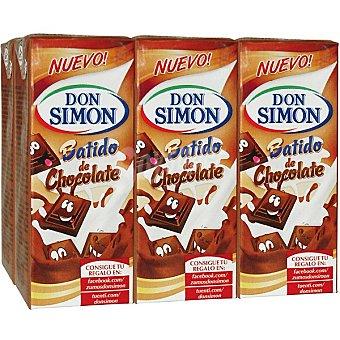 Don Simón Batido de cacao Pack 6 envases 200 ml