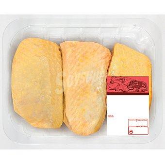 Contramuslos de Pollo Amarillo - Peso Aproximado Bandeja 750 g