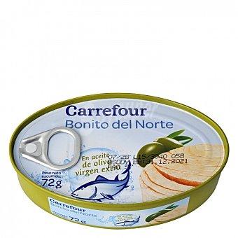 Carrefour Bonito del norte en aceite de oliva virgen extra 72 G 72 g