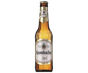 Krombacher Cerveza rubia alemana  Botellín 33 cl