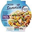 Ensalada de pasta-pavo 200 g Eroski Sannia