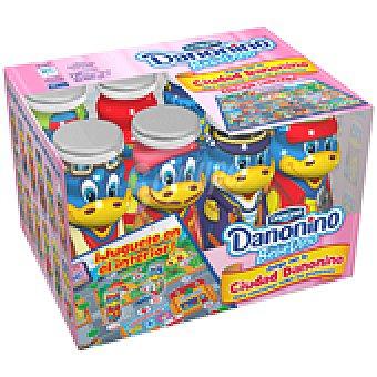 Danonino Danone Yogur bebedino de fresa con regalo 8 UNI