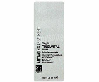 SEGLE CLINICAL Crema Tinolvital reafirmante y antioxidante 15 Mililitros