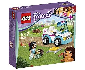 LEGO Juego de construcciones Friends La ambulancia veterinaria, 89 piezas, modelo 41086 1 unidad