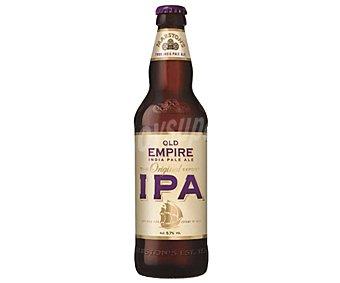 Old empire ipa Cerveza inglesa Botella de 50 centilitros