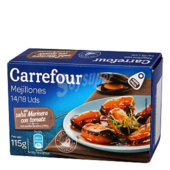 Carrefour Mejillones en Salsa Vieira 115 g