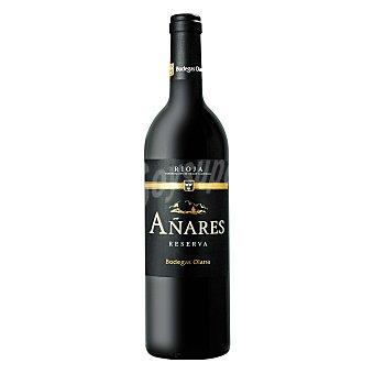 Añares Vino D.O. Rioja tinto reserva 75 cl