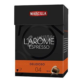 L'Arôme Espresso Marcilla Café Delizioso L'Arôme Espresso - Intensidad 5 10 ud.