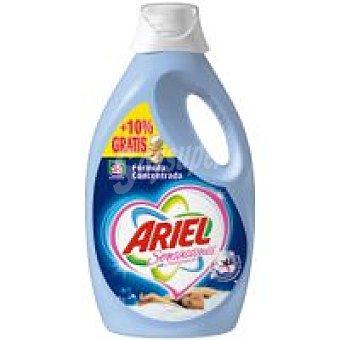 Ariel Detergente líquido sensaciones Botella 28+3 dosis