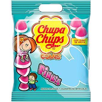 Chupa Chups Gomis. Caramelos blandos fresa-nata elaborados con zumo de fruta Bolsa 125 g