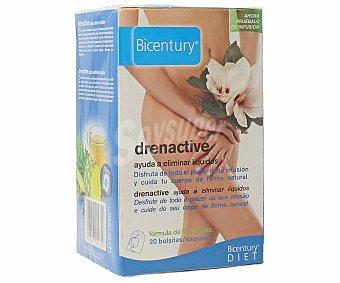 Bicentury Infusión ayuda a eliminar líquidos Drenactive Envase 20 bolsitas