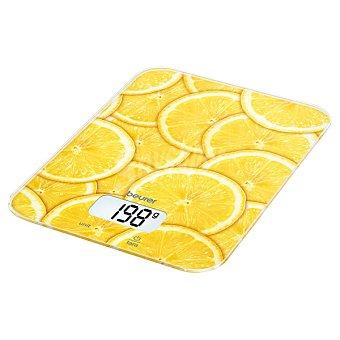 Beurer Balanza de cocina con dibujos de limones KS-19L 1 Unidad