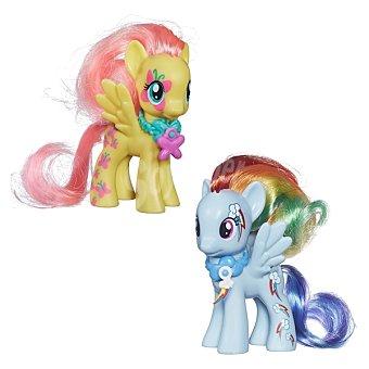MY LITTLE PONY Mini mascotas ponies de colores decoradas con cuttie marks incluyen 1 amuleto 1 unidad