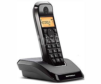 MOTOROLA S1201 NEGRO Teléfono inalámbrico Dect motorola startac S1201 Negro, identificador de llamadas, manos libres, agenda para 50 contactos