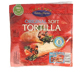 Santa Maria Tortilla de trigo soft 320 g (8 unidades)