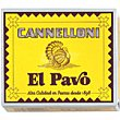 Canelones normal 20 unidades (110 g) El Pavo Gallina Blanca
